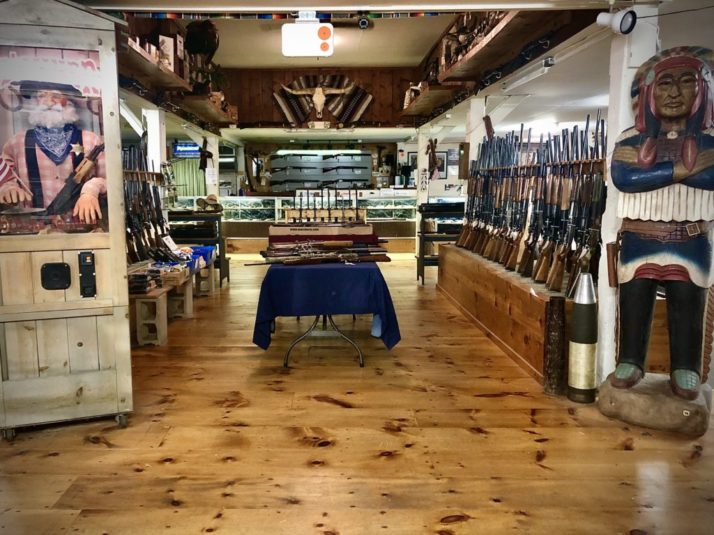 We have an extensive selection of new guns to choose from.