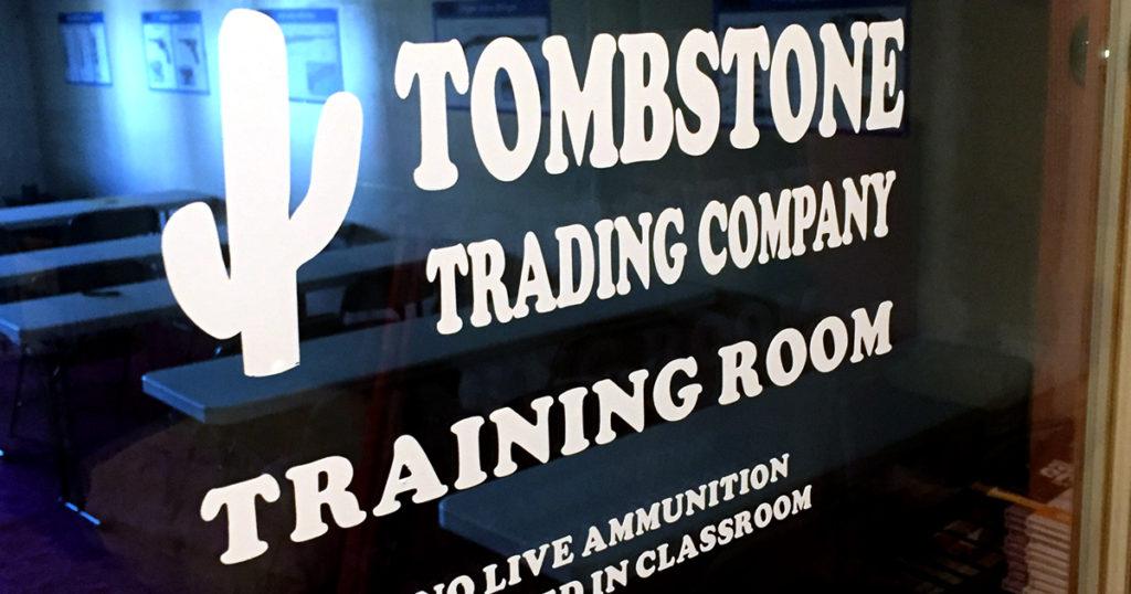 Tombstone Trading Company's Massachusetts LTC/FID Training Room
